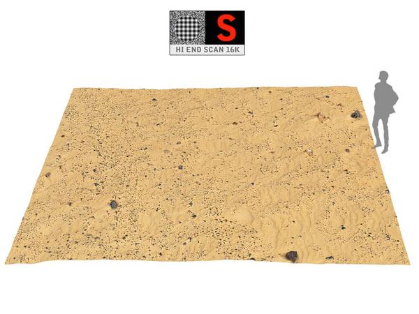 dune beach ground 16k model