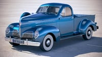 3D studebaker coupe express