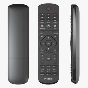 3D philips tv remote control