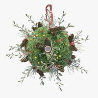 decoration ball christmas tree model