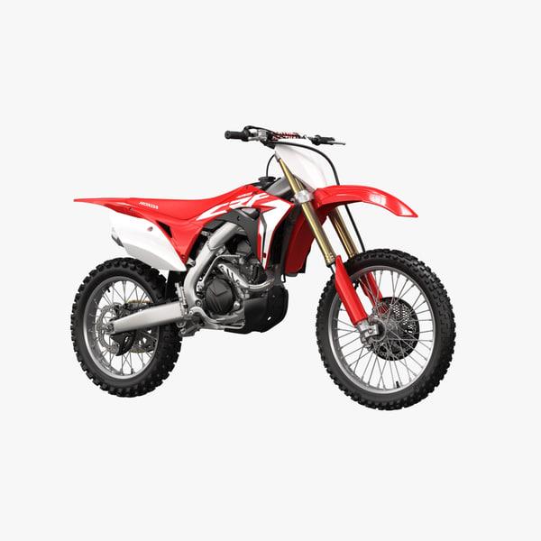 3D 2018 honda crf450r