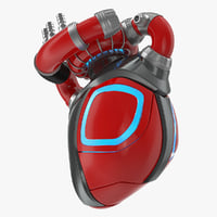 Robotic Heart 3D Model
