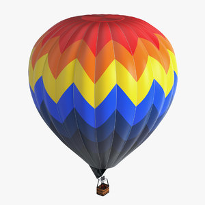 hot air balloon model