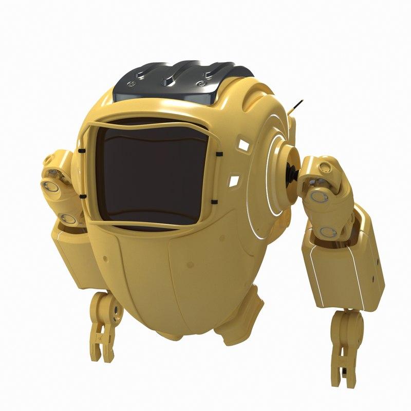 rig 3D model