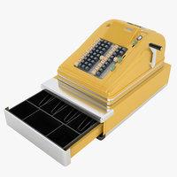 vintage cash register model