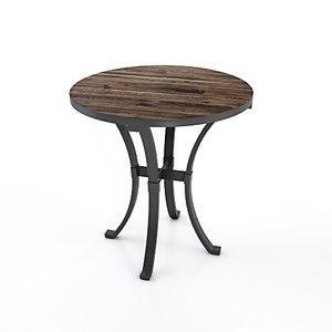 edgewood lamp table 3D