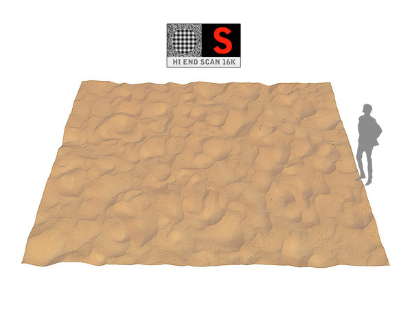 3D dune beach ground