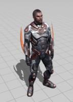 3D model unity fbx
