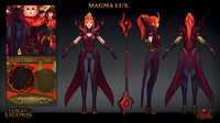 3D lux magma