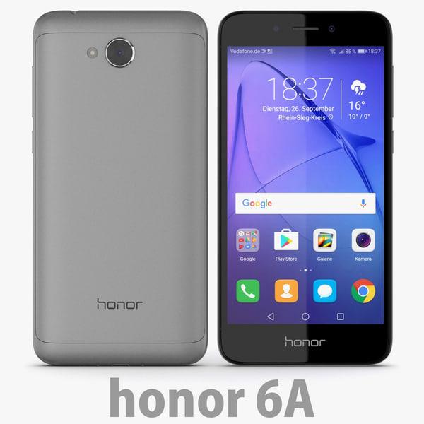 3D huawei honor 6a