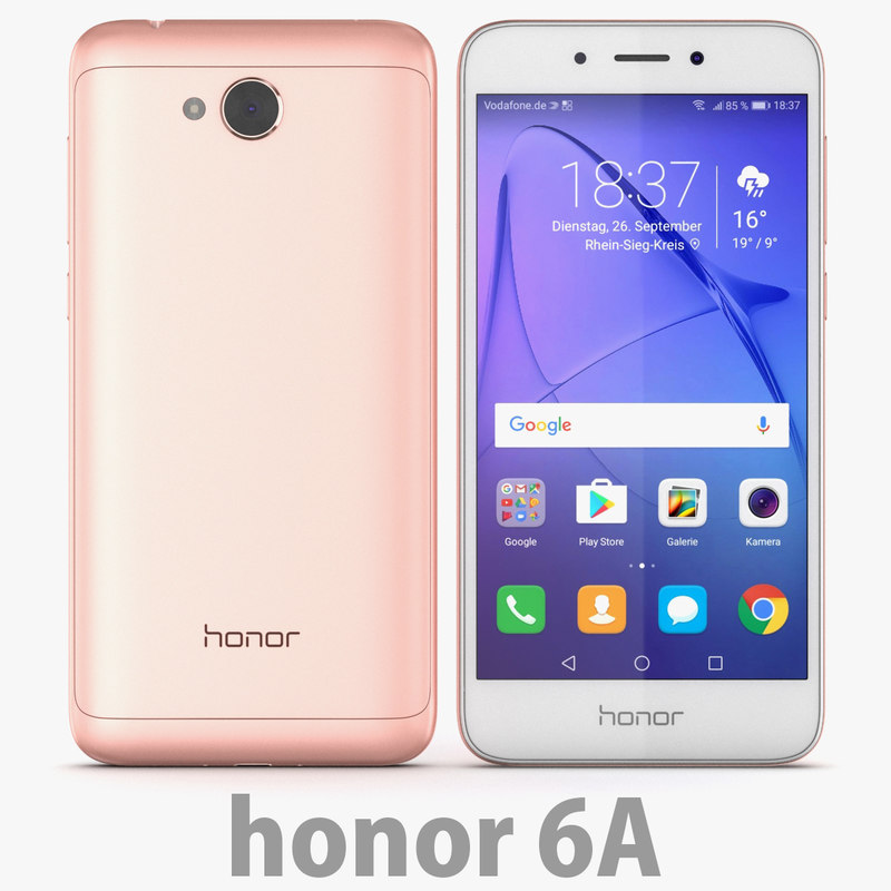 huawei honor 6a model