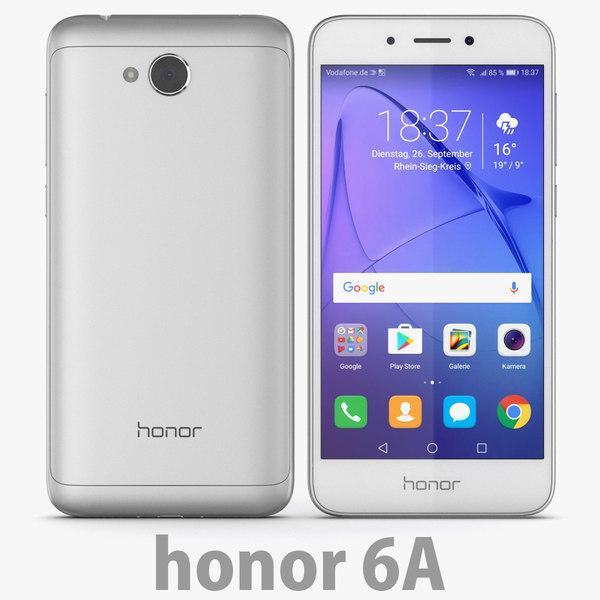 3D model huawei honor 6a