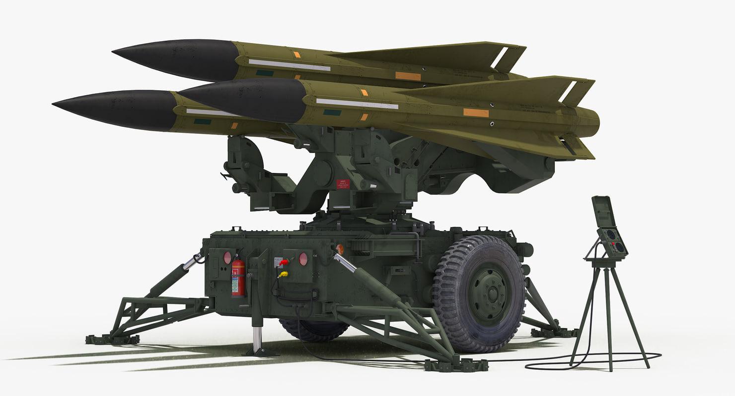 mim-23 hawk dark green 3D