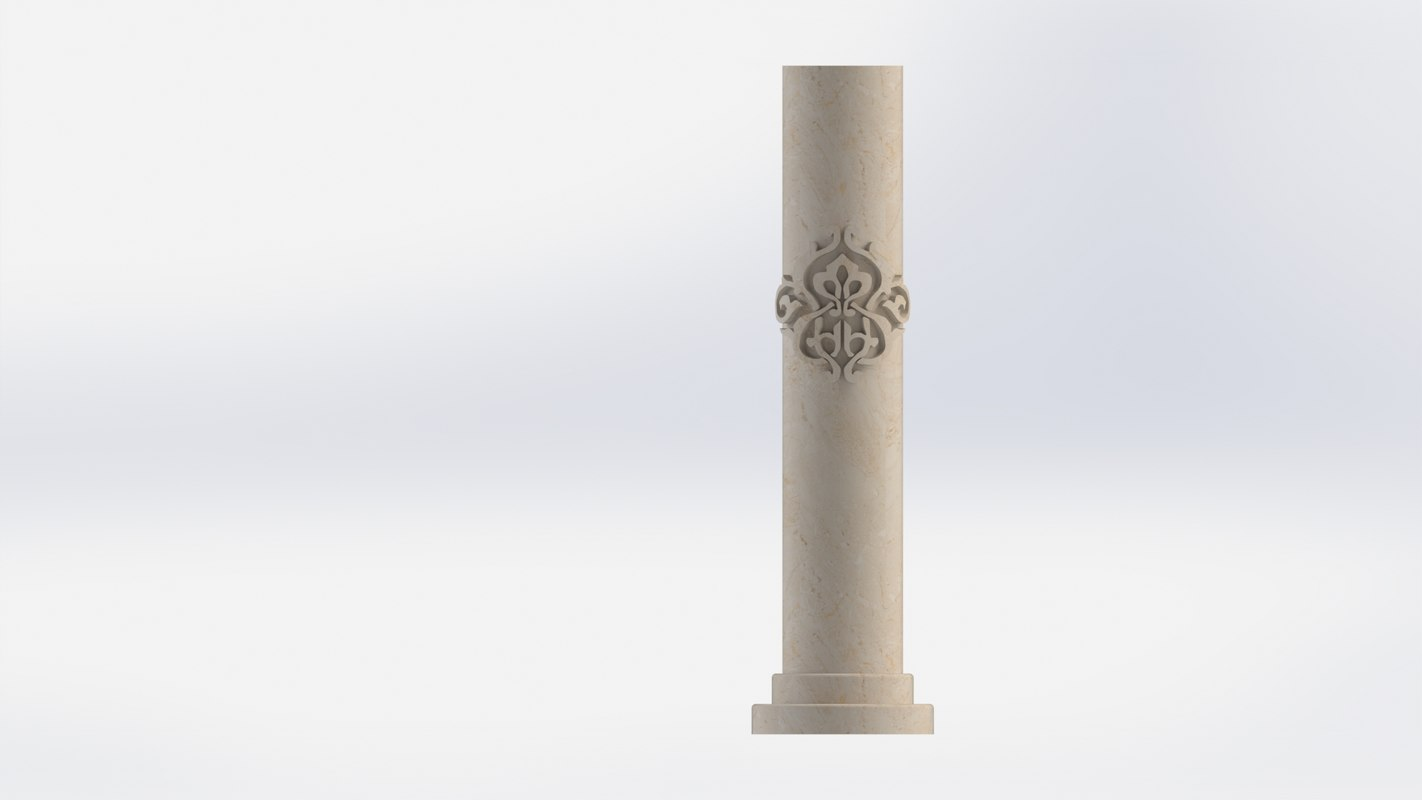 3D marble decor