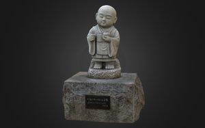 8k statues model