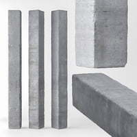 3D column concrete model