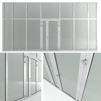 partitions doors 3D