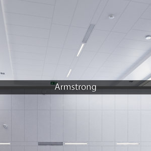 ceiling armstrong 3D model