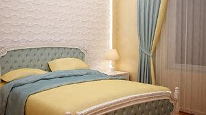 3D small bedroom