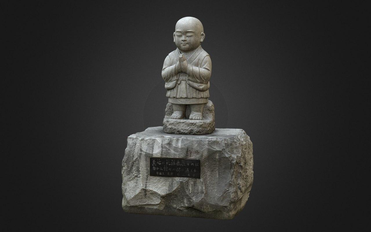 8k statues 3D model