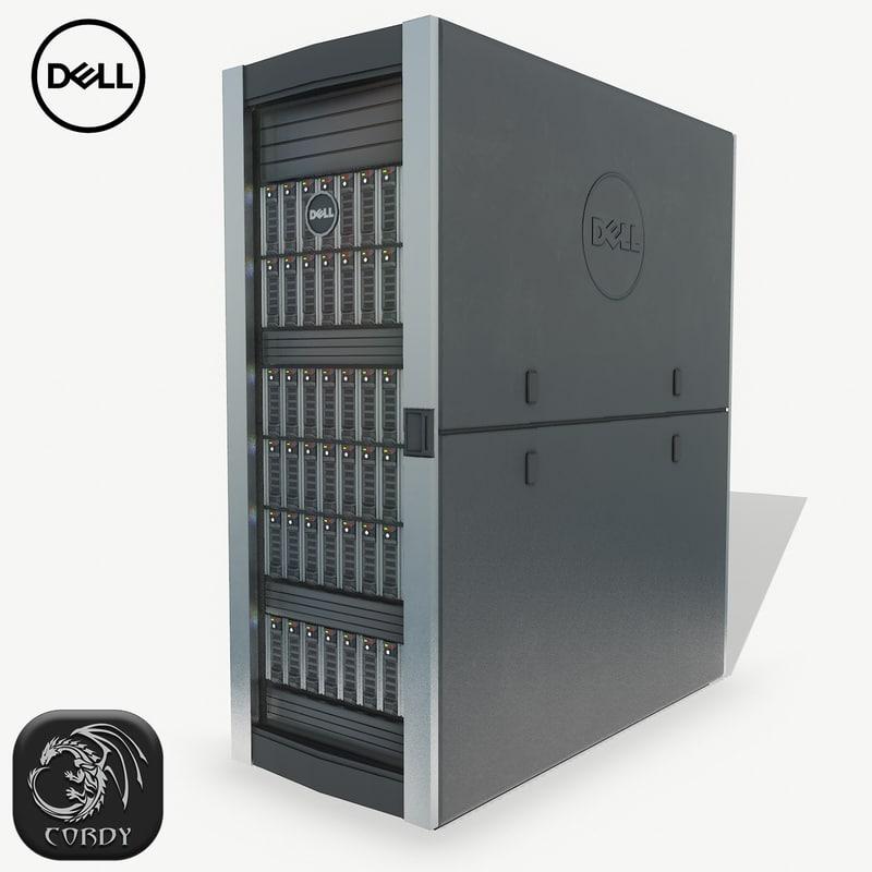 3D server dell model