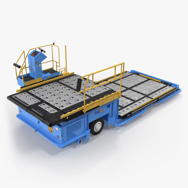 3D aircraft ground support lower model