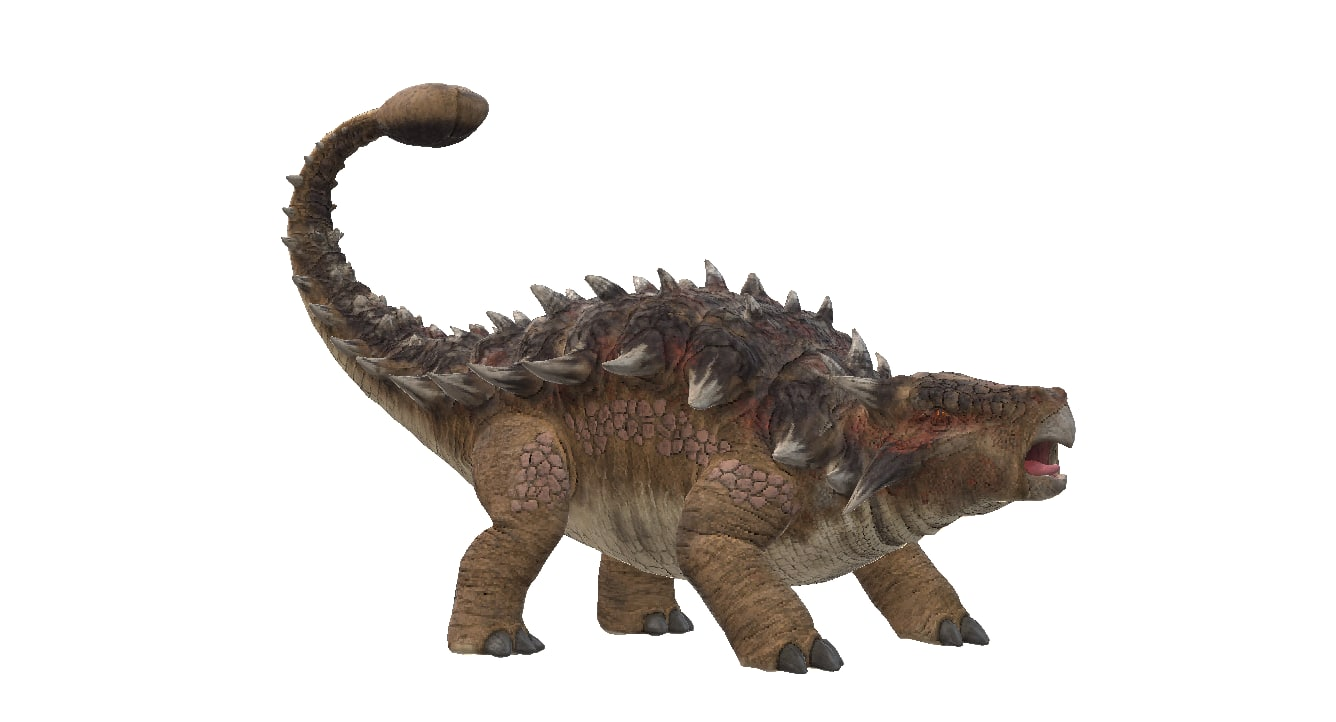 ankylosaurus dinosaur 3D model