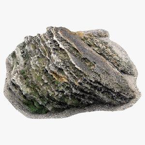 dark limestone 3D model
