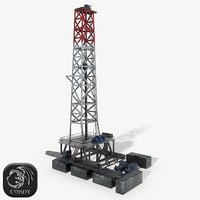 Drilling rig (Oil refinery)
