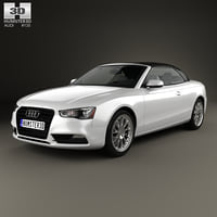 Audi A5 Cabriolet with HQ interior 2012