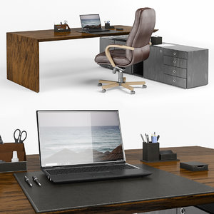 set office 3D model
