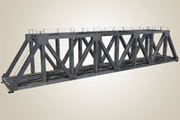 3D railway bridge