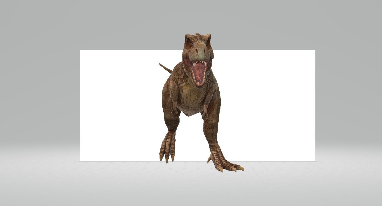 3D model tyrannosaurus dinosaur rex