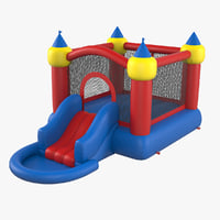 3D jump slide bouncer