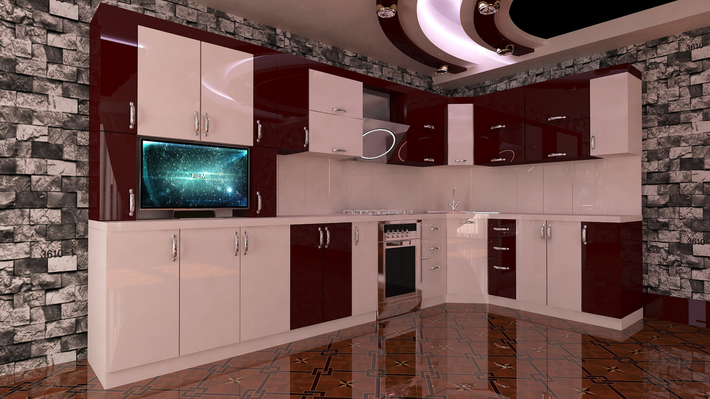 3D kitchen shemsi model