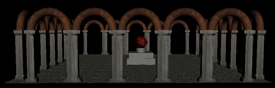 3D temple model