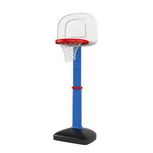 basketball set 3D