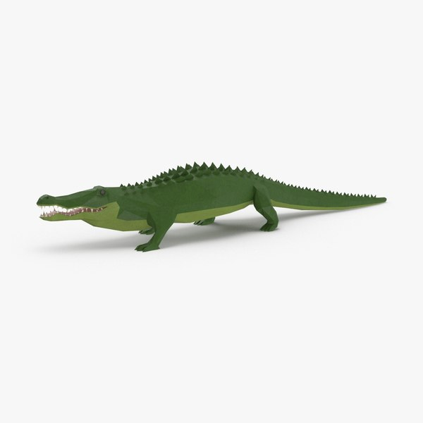 alligator---walking model