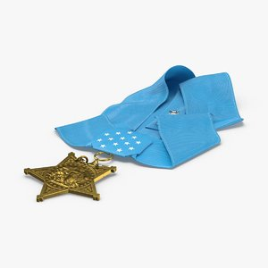 medal-of-honor-navy---laying 3D model