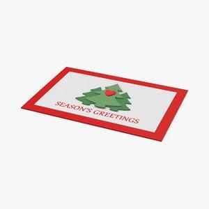 christmas-cards---v3-closed 3D model
