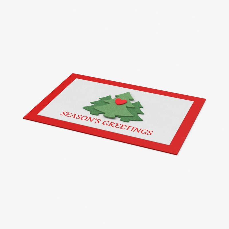 christmas-cards---v3-closed 3D model
