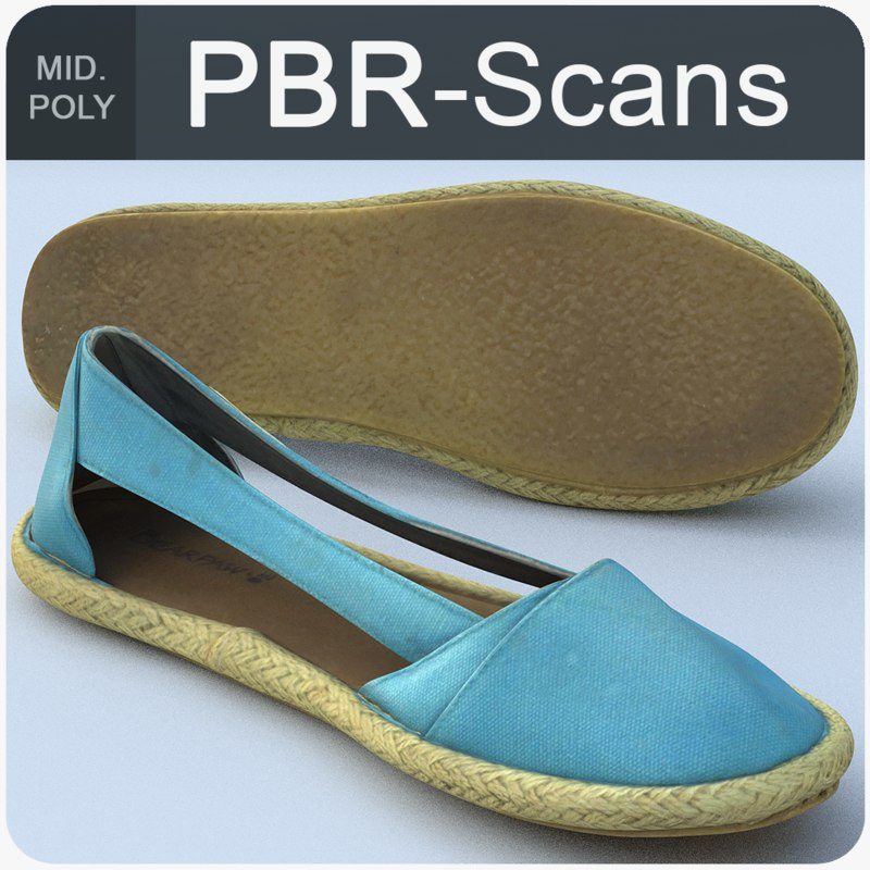 scans shoe model