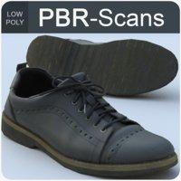 pbr shoes 3D model
