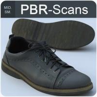 3D scans shoes