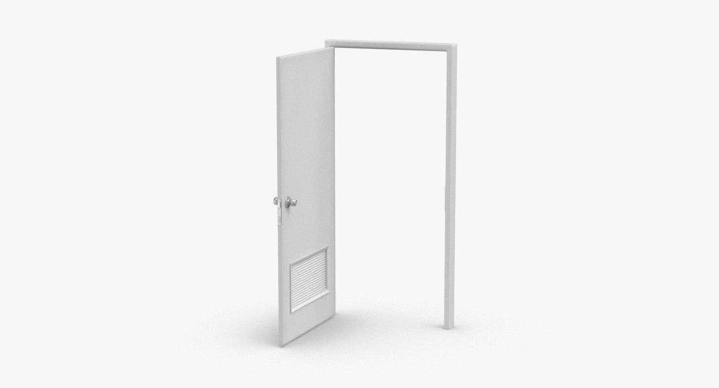 3D commercial-doors---door-4-open