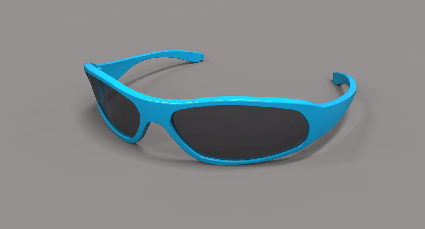 3D sun sunglasses glasses