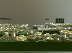 kitchenware tableware cookware 3D model