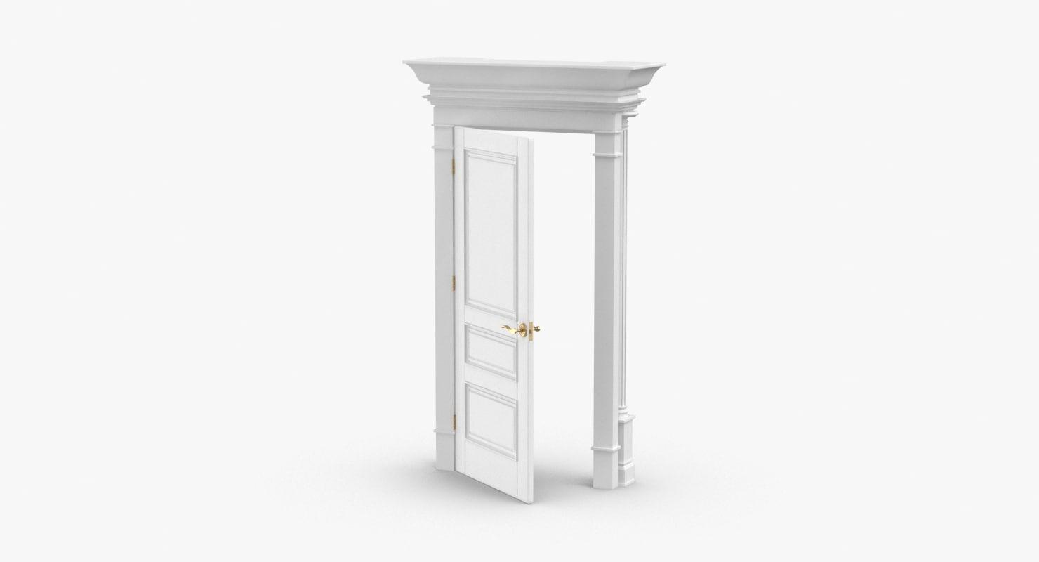 classic-doors---door-3-ajar model