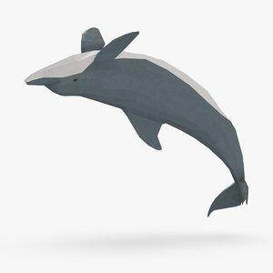 dolphin---backflip model