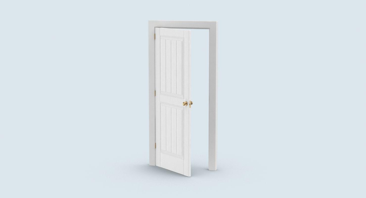 ... classic-doors---door-5-ajar 3D model ...  sc 1 st  TurboSquid & Classic-doors---door-5-ajar 3D model - TurboSquid 1237933